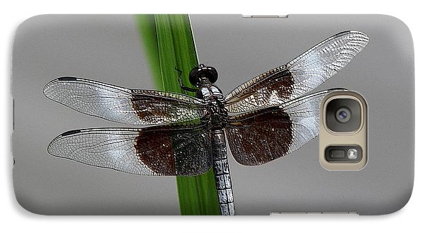 Galaxy Case featuring the photograph Dragon Fly by Jerry Battle