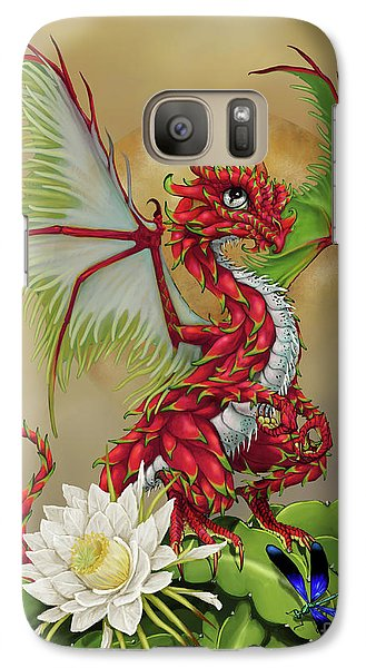 Galaxy Case featuring the digital art Dragon Fruit Dragon by Stanley Morrison