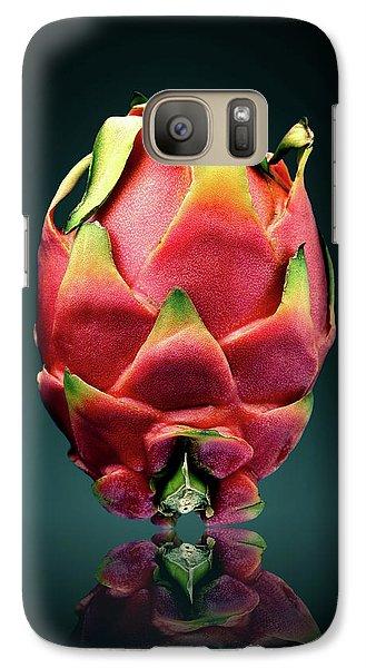 Dragon Galaxy S7 Case - Dragon Fruit Or Pitaya  by Johan Swanepoel