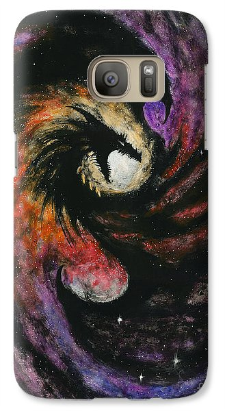 Galaxy Case featuring the painting Dragon Galaxy by Stanley Morrison