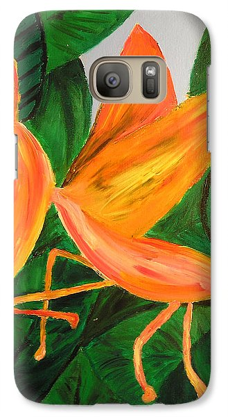 Galaxy Case featuring the painting Dragon Horsefly by Lola Connelly