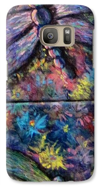 Galaxy Case featuring the painting Dragon Line by Megan Walsh