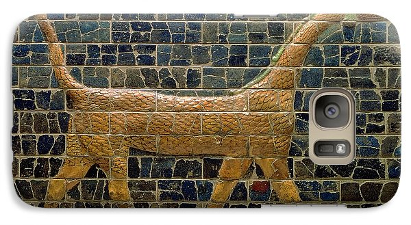 Dragon Of Marduk - On The Ishtar Gate Galaxy S7 Case by Anonymous