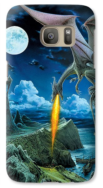 Fantasy Galaxy S7 Case - Dragon Spit by The Dragon Chronicles - Robin Ko