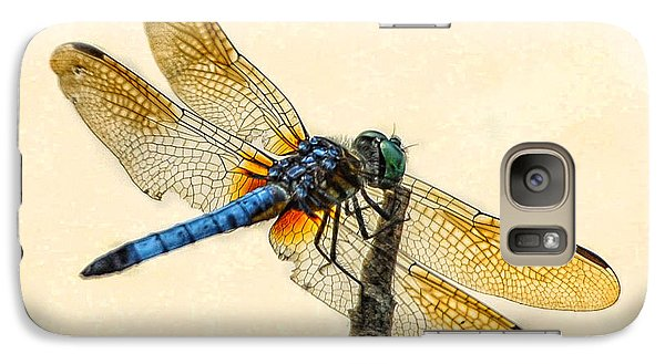 Galaxy Case featuring the photograph Dragonfly by Jim Moore