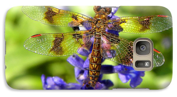 Galaxy Case featuring the photograph Dragonfly by Sandi OReilly