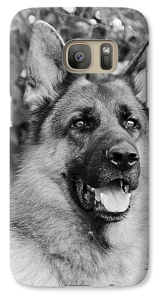 Galaxy Case featuring the photograph Drake Watching by Sandy Keeton