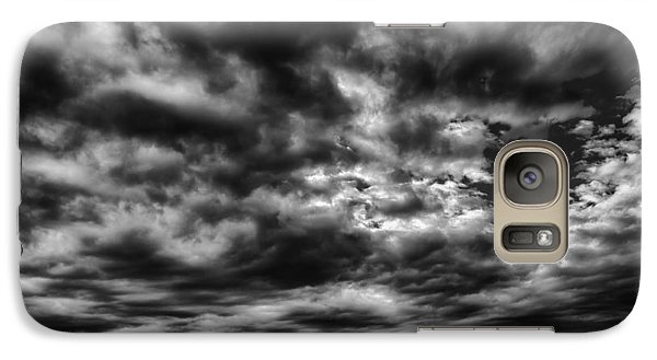 Galaxy Case featuring the photograph Dramatic Palouse Sky by Chris McKenna