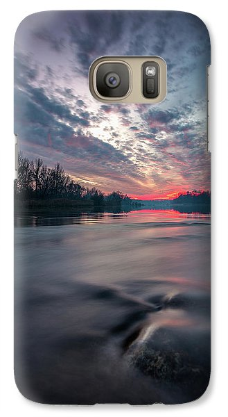 Galaxy Case featuring the photograph Drava by Davorin Mance