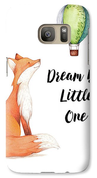 Galaxy Case featuring the digital art Dream Big Little One by Colleen Taylor
