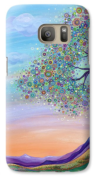 Galaxy Case featuring the painting Dream Big by Tanielle Childers