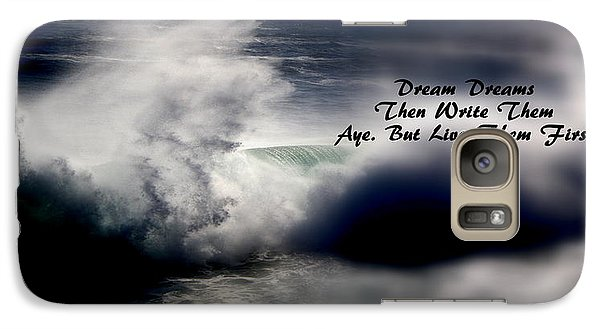 Galaxy Case featuring the photograph Dream Dreams by Greg DeBeck