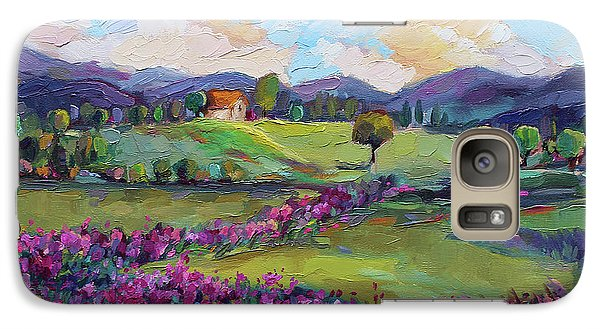 Galaxy Case featuring the painting Dream In Color by Jennifer Beaudet