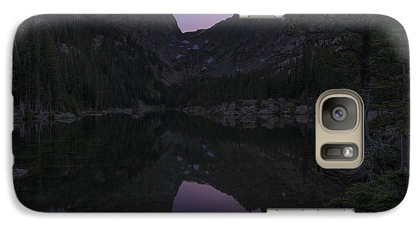 Galaxy Case featuring the photograph Dream Lake Reflections by Gary Lengyel