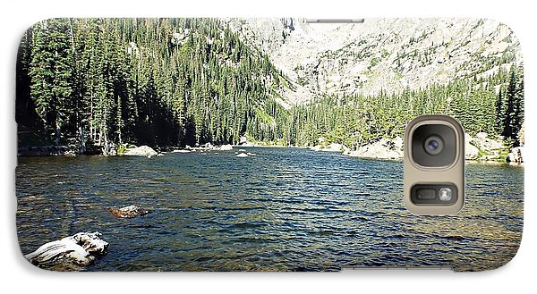 Galaxy Case featuring the photograph Dream Lake - Rocky Mountain National Park by Joseph Hendrix