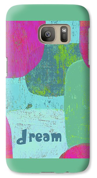 Galaxy Case featuring the painting Dream by Lisa Weedn