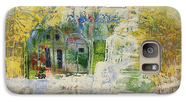 Galaxy Case featuring the painting Dream Of Dreams. by Sima Amid Wewetzer