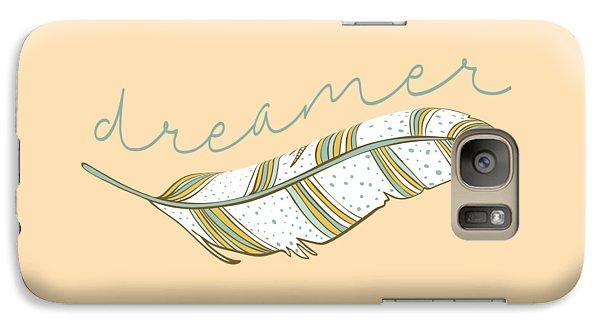 Galaxy Case featuring the digital art Dreamer by Heather Applegate