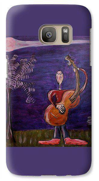 Galaxy Case featuring the painting Dreamers 13-001 by Mario Perron
