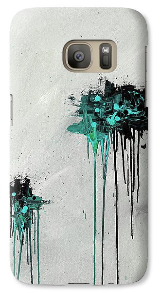 Galaxy Case featuring the painting Dreamers by Carmen Guedez