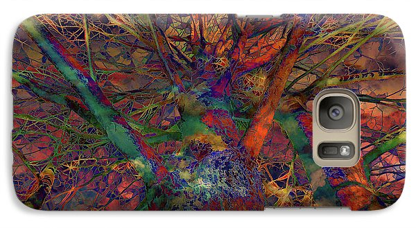 Galaxy Case featuring the digital art Dreamers by Robert Orinski