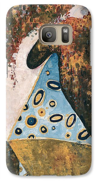 Galaxy Case featuring the painting Dreaming by Maya Manolova