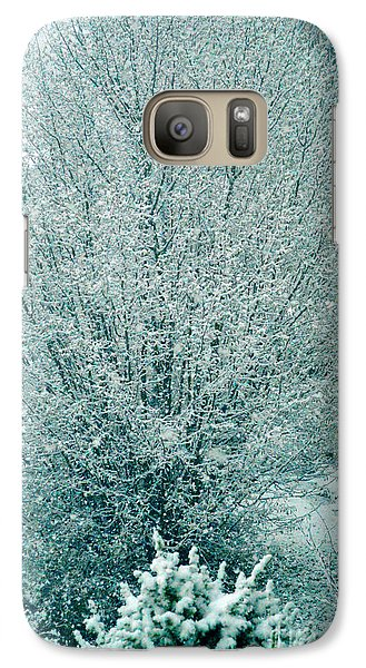 Galaxy Case featuring the photograph Dreaming Of A White Christmas - Winter In Switzerland by Susanne Van Hulst