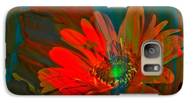 Galaxy Case featuring the photograph Dreaming Of Flowers by Jeff Swan