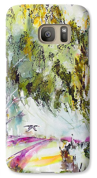 Galaxy Case featuring the painting Dreaming Of Provence by Ginette Callaway