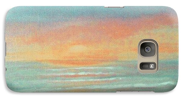 Galaxy Case featuring the painting Dreaming Of Summer by Holly Martinson