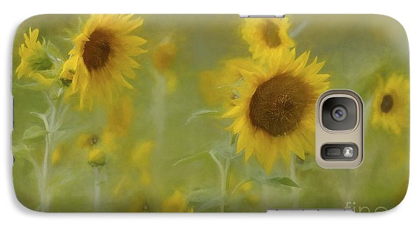 Galaxy Case featuring the photograph Dreaming Of Sunflowers by Benanne Stiens