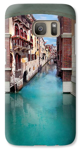 Featured Images Galaxy S7 Case - Dreaming Of Venice Vertical Panorama by Az Jackson