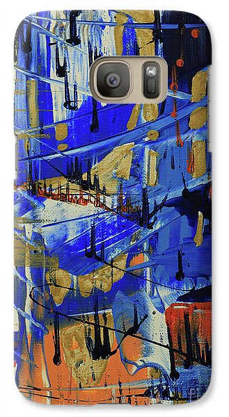 Galaxy Case featuring the painting Dreaming Sunshine II by Cathy Beharriell
