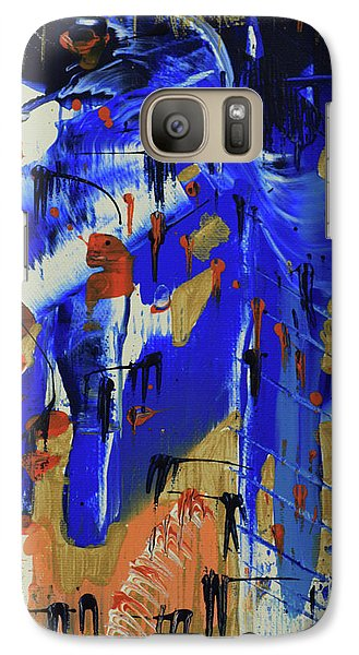 Galaxy Case featuring the painting Dreaming Sunshine IIi by Cathy Beharriell