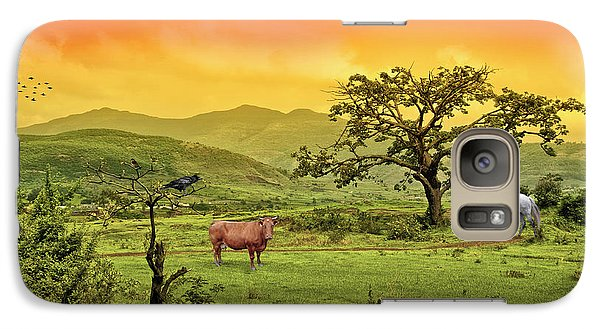 Galaxy Case featuring the photograph Dreamland by Charuhas Images