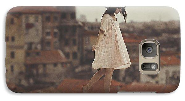 Surrealism Galaxy S7 Case - Dreams In Old Porto by Anka Zhuravleva