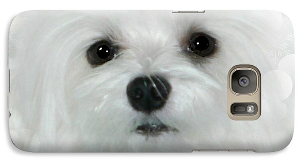 Galaxy Case featuring the photograph Dreams In White by Morag Bates