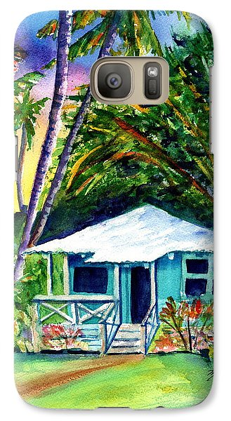 Galaxy Case featuring the painting Dreams Of Kauai 2 by Marionette Taboniar