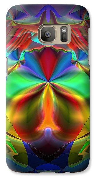 Galaxy Case featuring the digital art Dreams Of The Future by Lynda Lehmann