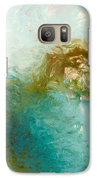Galaxy Case featuring the painting Dreamstime 3 by Irene Hurdle