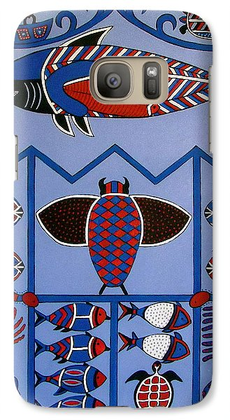 Galaxy Case featuring the painting Dreamtime by Stephanie Moore