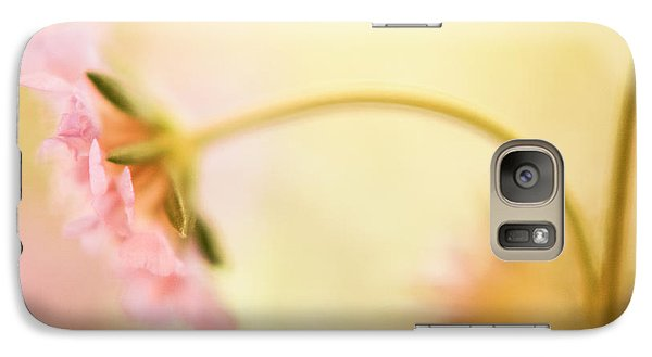 Galaxy Case featuring the photograph Dreamy Pink Flower by Bonnie Bruno