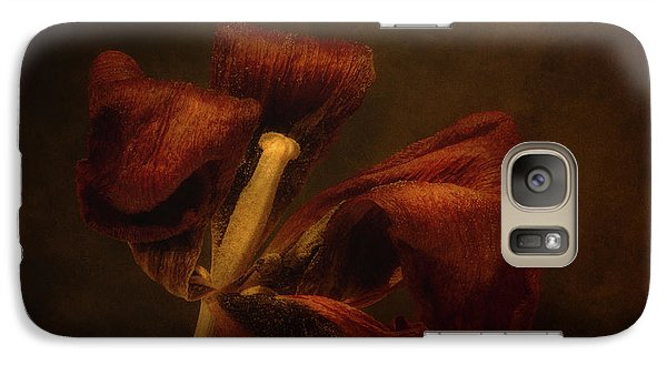 Tulip Galaxy S7 Case - Dried Tulip Blossom 2 by Scott Norris