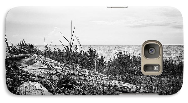 Galaxy Case featuring the photograph Drift Wood by Karen Stahlros