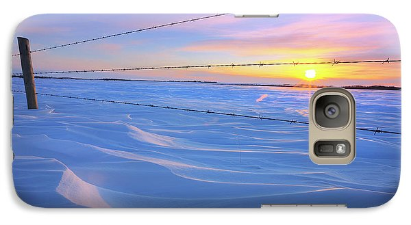 Galaxy Case featuring the photograph Drifting Away by Dan Jurak