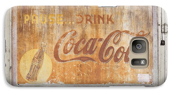 Galaxy Case featuring the photograph Drink Coca Cola by Mark Greenberg