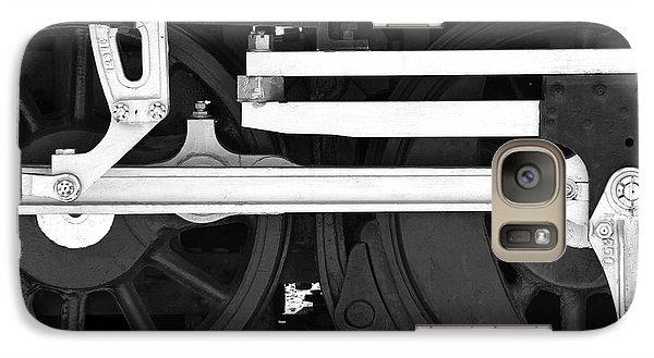Train Galaxy S7 Case - Drive Train by Mike McGlothlen