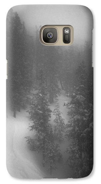 Galaxy Case featuring the photograph Drop In by Mark Ross