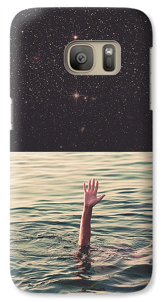 Drowned In Space Galaxy Case by Fran Rodriguez