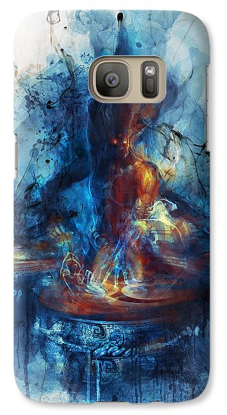 Drum Galaxy S7 Case - Drum by Te Hu